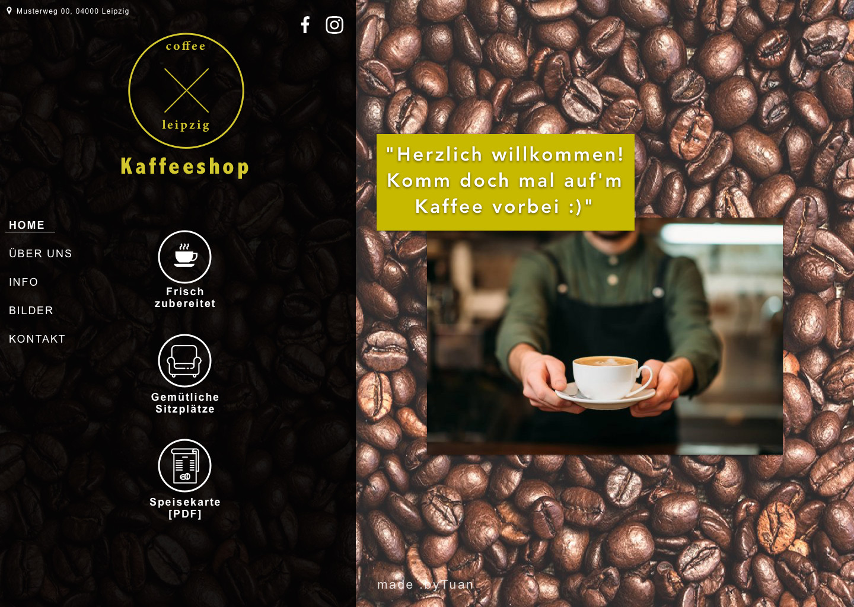 Template 02 - Café