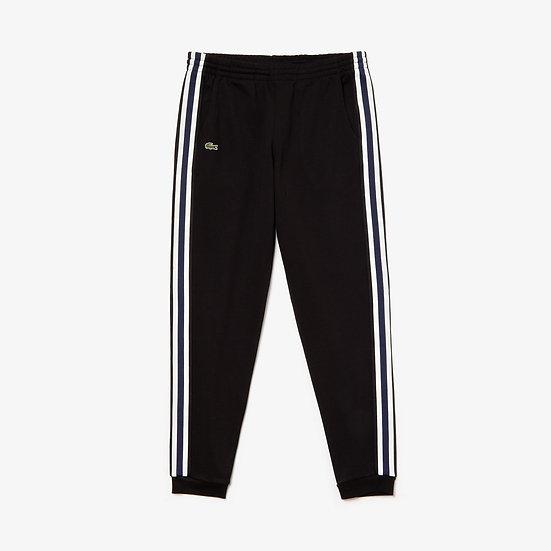 Lacoste Men's Fleece Side Stripe Trackpants