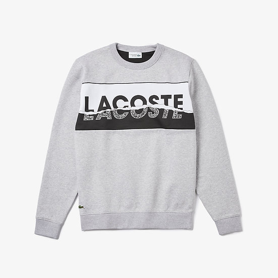 Lacoste Men's SPORT Graphic Print Fleece Sweatshirt