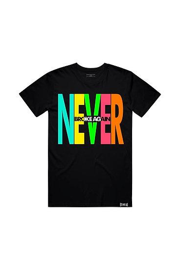 NEVER - BLACK