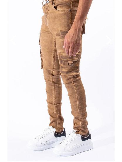 Tiger Eye Cargo Jeans