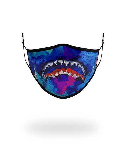 KIDS FORM FITTING MASK: COLOR DRIP