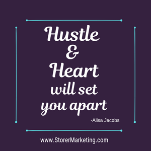 Hustle & Heart will set you apart