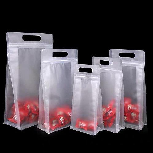 Ziplock Bag with handle
