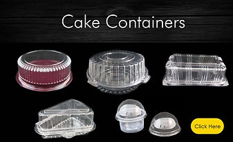 plastic cake containers wholesale