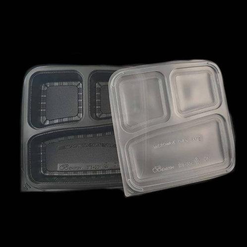 Food Container FPLBBTB-3CN-BLACK