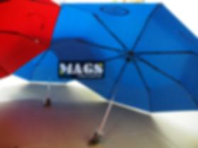 logo prinitng on umbrealla