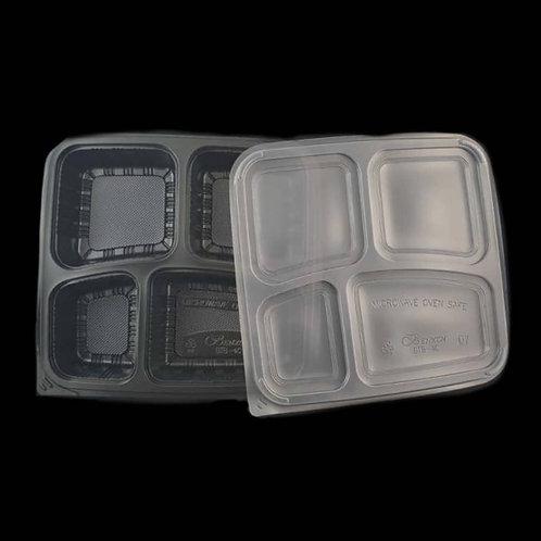 Food Container FPLBBTB-4C-BLACK
