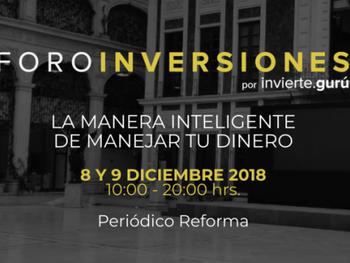 """Invitación a Foro Inversiones, con Héctor Sosa de """"Adiós a tu Jefe"""""""