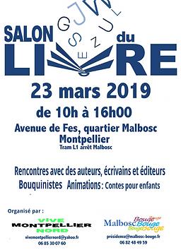 AFFICHE - SALON DU LIVRE 23 MARS 2019.pn