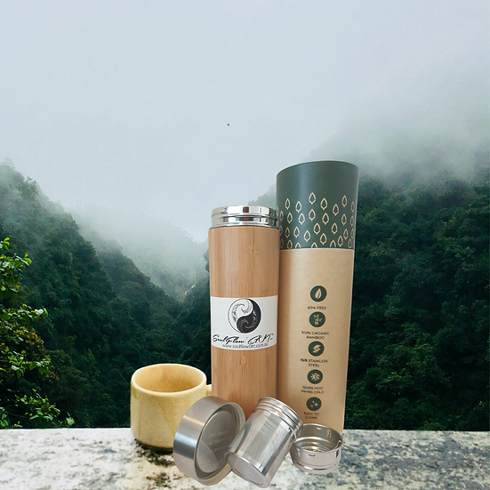 BAMBOO FLASK WITH INFUSER