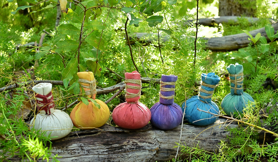Tye Dye - Herbal Massage Pod/Ball