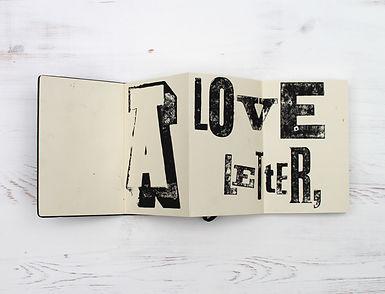 Letterpress Print - Notebook