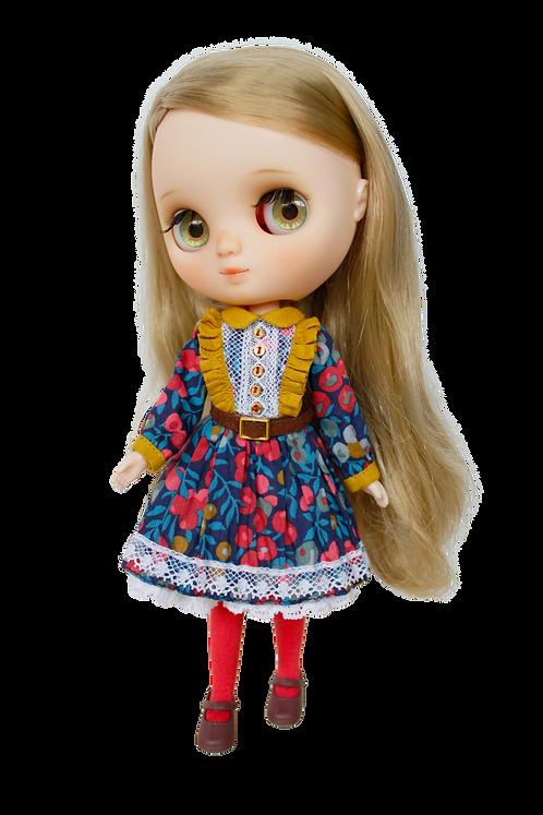 """Liberty Spring Dress"" for Middie Blythe dolls"