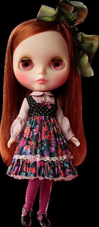 """Fanny's Garden Dress"" for Neo Blythe dolls"
