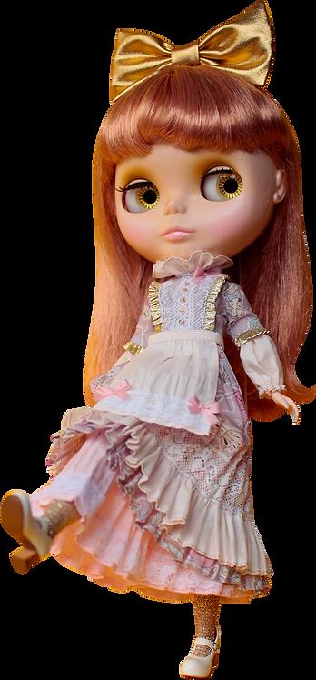 """Alice Gold Dreams Dress"" for Neo Blythe dolls"