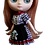 "Thumbnail: ""Middie Gingham Dress"" Black for Middie Blythe dolls"