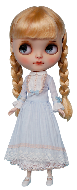"""""""Blue Lullaby"""" for Neo Blythe"""