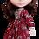 "Thumbnail: ""Red Vintage Garden"" for Neo Blythe dolls"