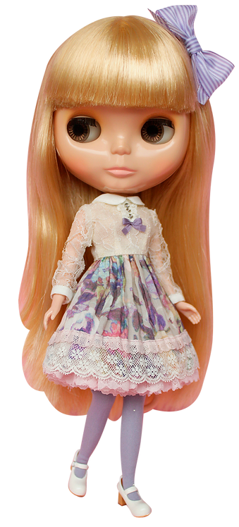 """""""Lacey Day Date Dress"""" for Neo Blythe dolls"""