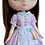 """Thumbnail: """"Middie Gingham Dress"""" Pink for Middie Blythe dolls"""