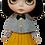 "Thumbnail: ""Mustard Tea Party Dress"" for Neo Blythe dolls"