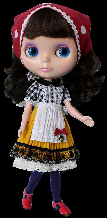 """Gimgham Maiden Dress"" for Neo Blythe dolls"