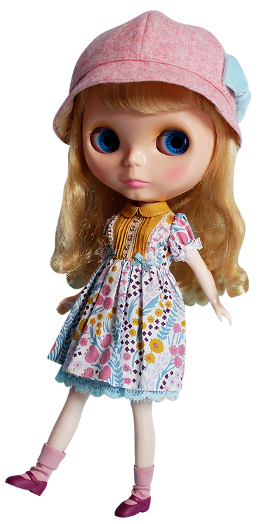 """Spring Garden"" for Neo Blythe dolls"