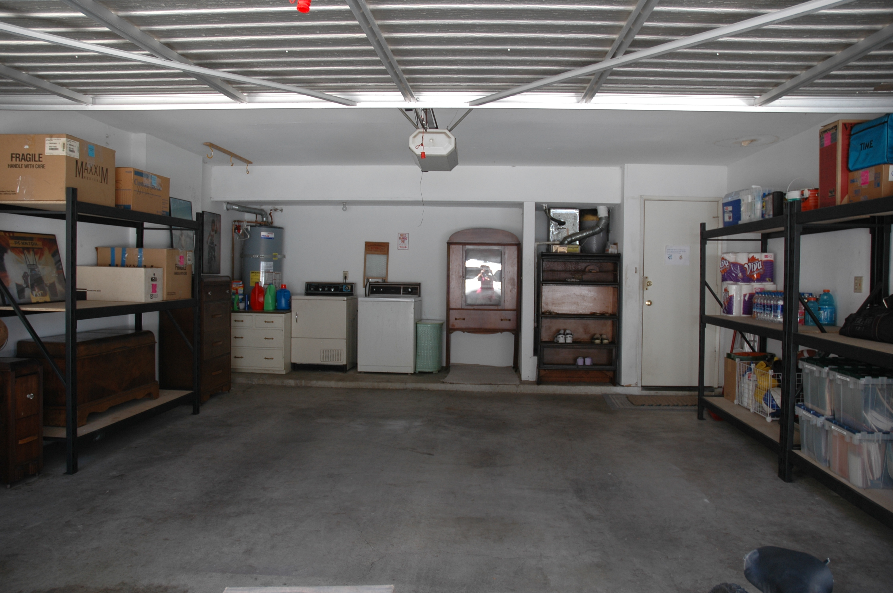 After 3 day Garage detatil