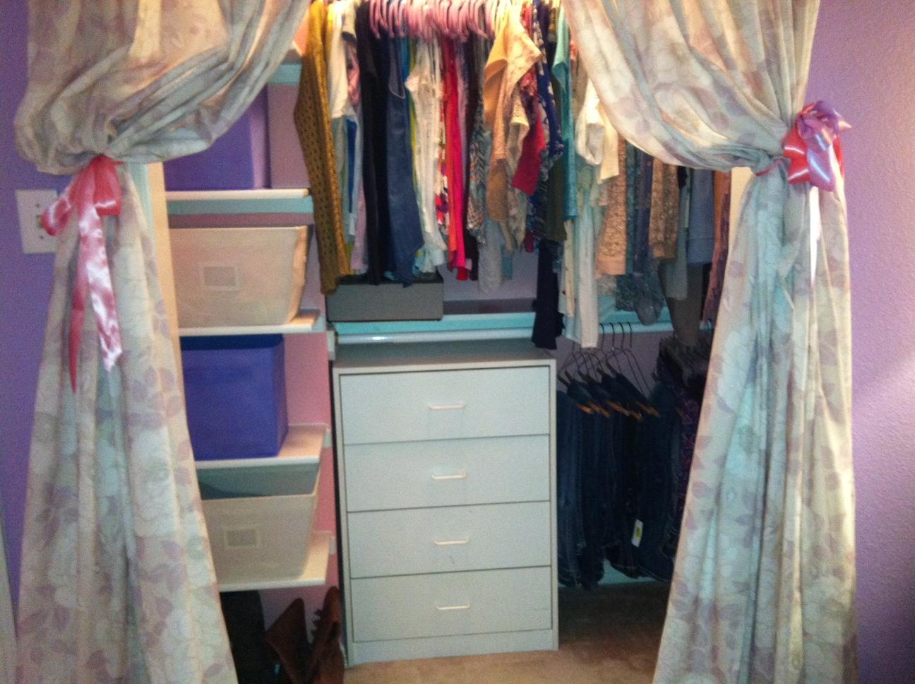 After Teenager Closet