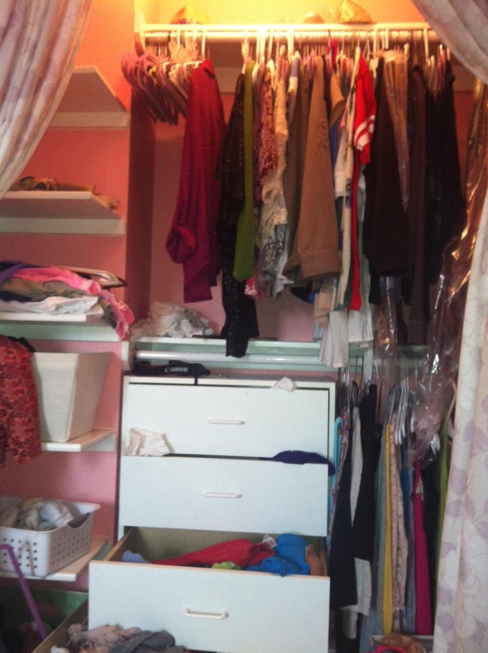 Before Teenager Closet