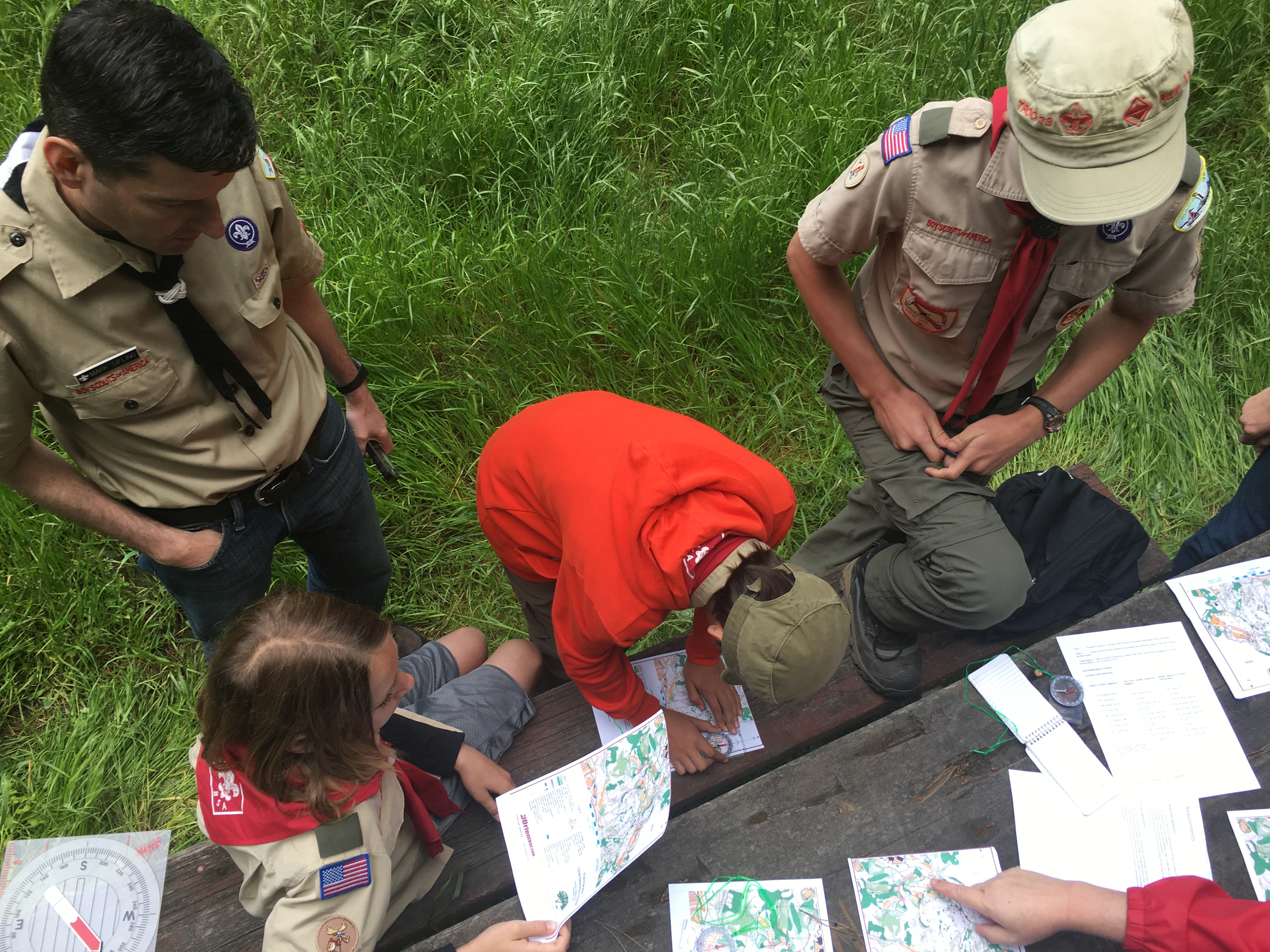 Mark scouts maps