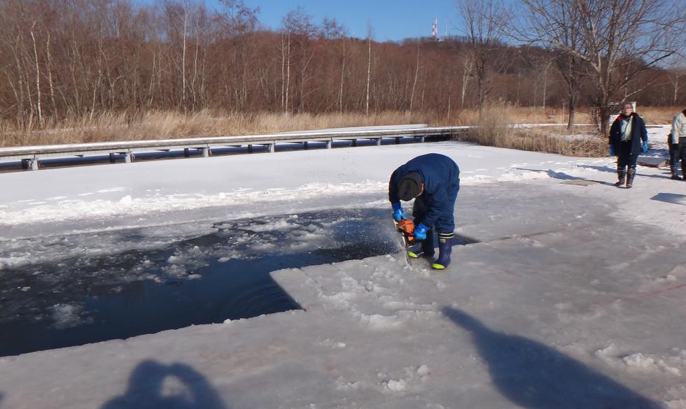 R2.1.15 エコロジーパーク氷の迷路製作