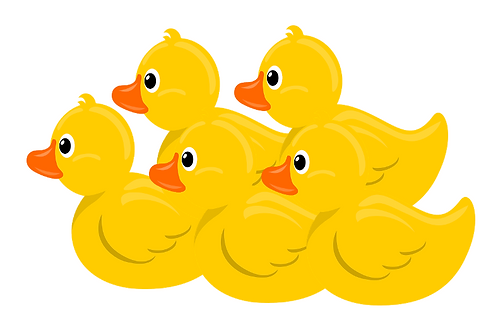 5 Declan's Ducks