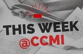 This week @ CCMI thru January 6