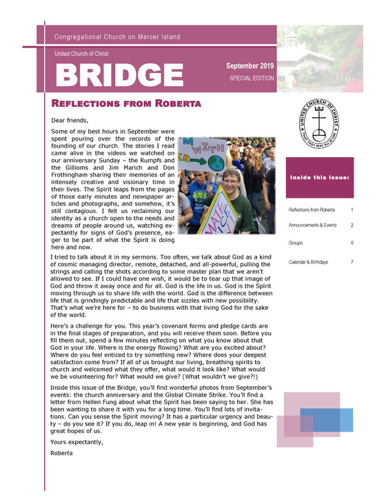 Bridge- October Edition