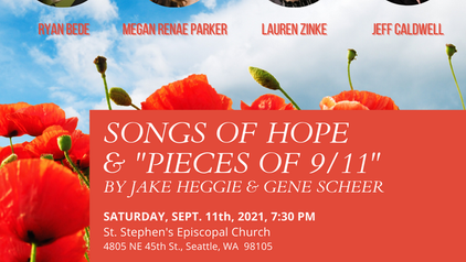 """Songs of Hope & """"Pieces of 9/11"""""""