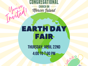Earth Day Drive Thru is now a Fair!!!