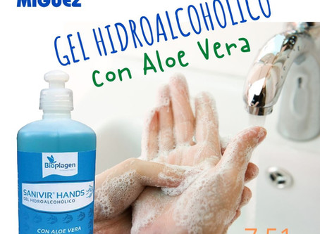 Gel Hidroalcohólico - 7,51 €/500 ml