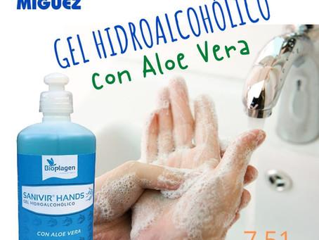 Gel Hidroalcohólico - 7,51 €/500 ml