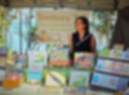 Sandra Kendell at her children's booksta