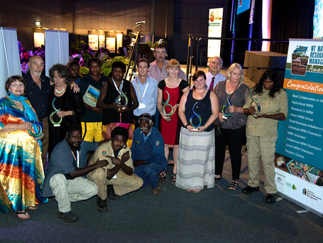 2016 NT NRM Award winners shine in Darwin