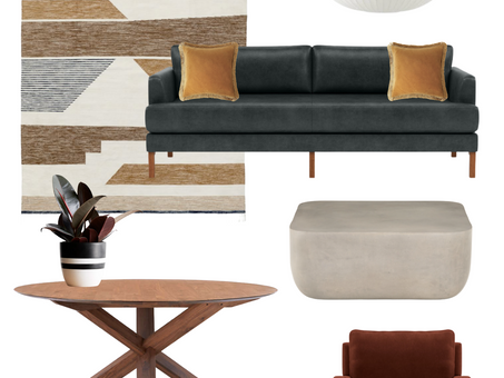 Reader Question: What Furniture Should I Pair with a Cement Table?
