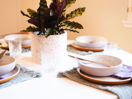 How To Create A Tablescape Inspired By Natural Dyes & A Bonus Giveaway!