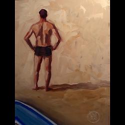 Bleu Dune | Surfeur bleu