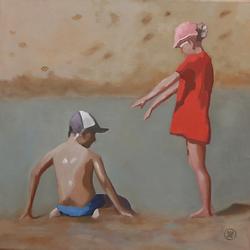Bleu Dune | Deux enfants