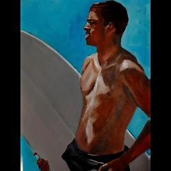 Bleu Dune | Surfeur Californie