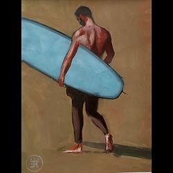 Bleu Dune | Surfeur dos II