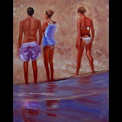 Bleu Dune   Bord de plage