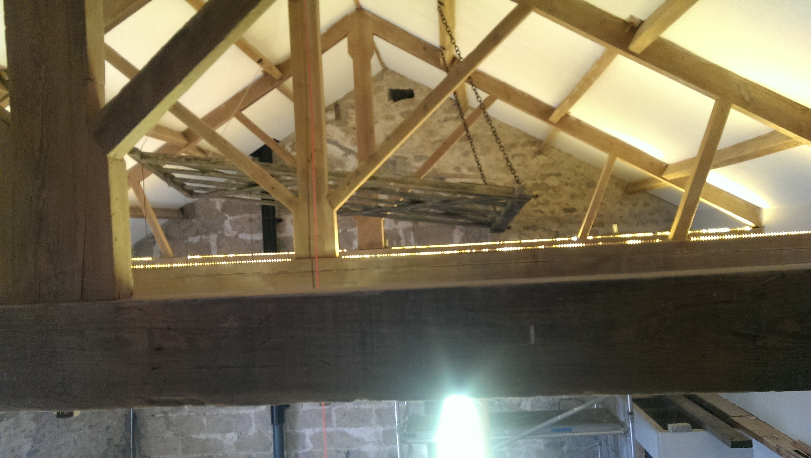 Lighting at Toft Gate Cafe